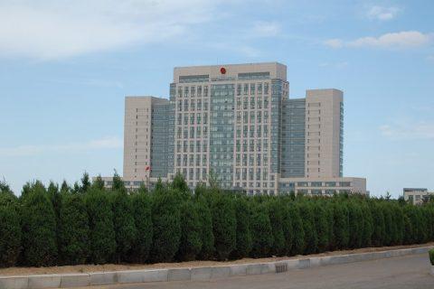 龙口市政府景观工程