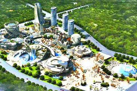 烟台五彩文化广场项目文化中心