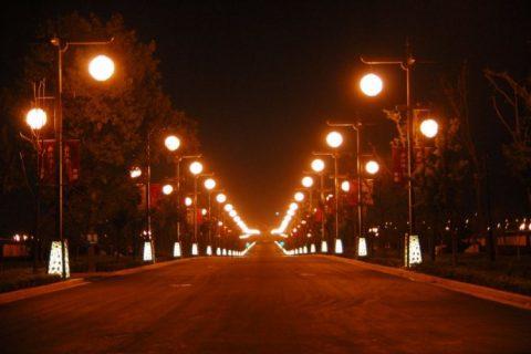 海阳市二期道路照明改造工程