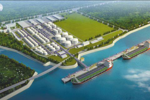 烟台港西港区油库项目及附属工程