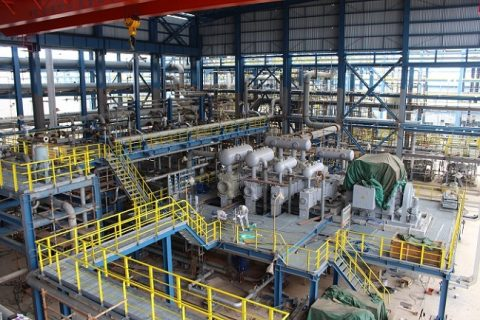 中世天然气龙口压缩机厂房及相关配套工程