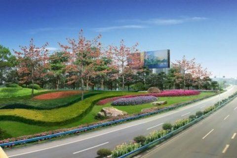 寿光市东部新城企业总部群市政景观工程