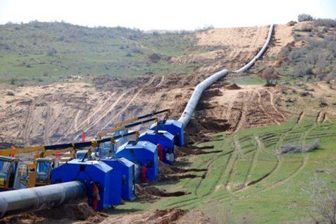 蓬莱北沟天然气管道工程