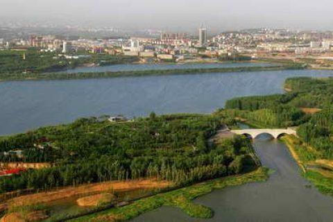 龙口市黄河水湿地公园